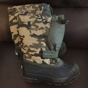 Columbia Snow Winter Boots Camouflage